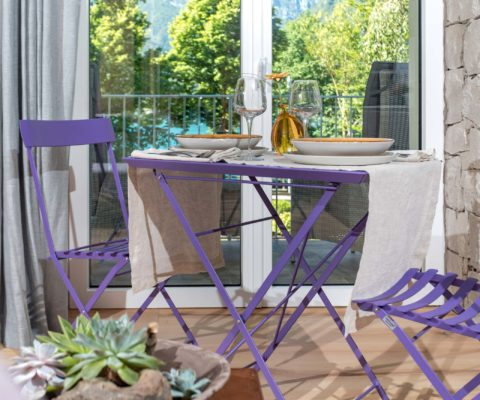 Salotto - Tulipa Natural Home - Mezzolago Apartments - Ledro (TN)