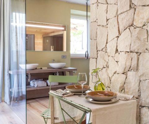 Cucina - Tulpipa Natural Home - Mezzolago Apartments - Ledro (TN)