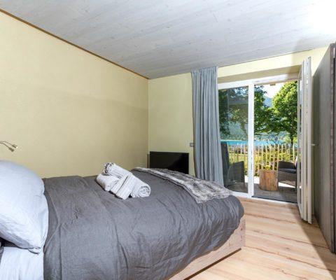 Camera da letto - biocertificata - Tulipa Natural Home - Mezzolago Apartments - Ledro (TN)