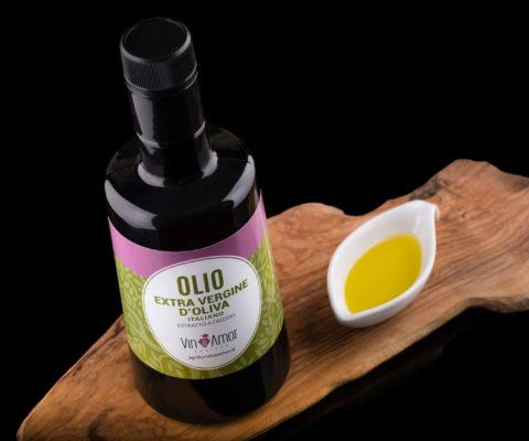 Foto etichetta Olivio di Oliva - Agritur Vin e Amor - fotografo per cataloghi a Riva del Garda
