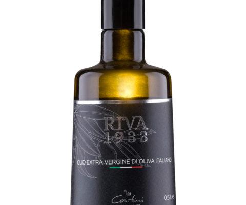 Foto etichetta Olivio di Oliva sfondo bianco - Riva 1933 - fotografo per cataloghi a Riva del Garda